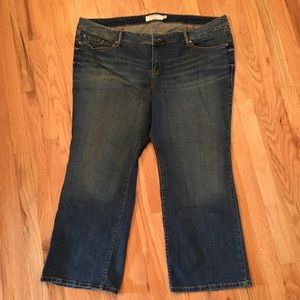 Torrid medium wash jeans size 26S
